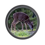 Little Fawn Wall Clock