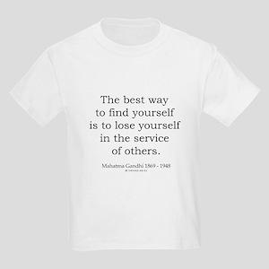 Mahatma Gandhi 24 Kids Light T-Shirt