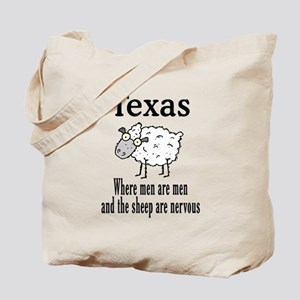 Texas Men Tote Bag