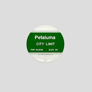 Petaluma Mini Button