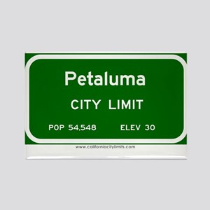 Petaluma Rectangle Magnet