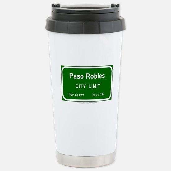 Paso Robles Stainless Steel Travel Mug