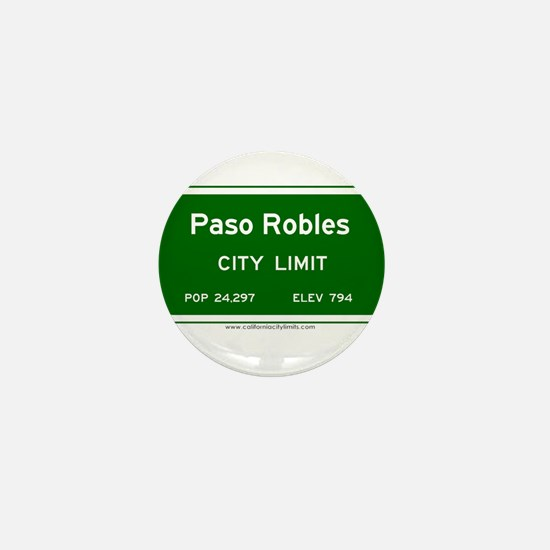 Paso Robles Mini Button