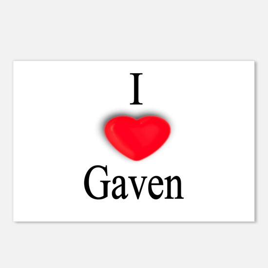 Gaven Postcards (Package of 8)
