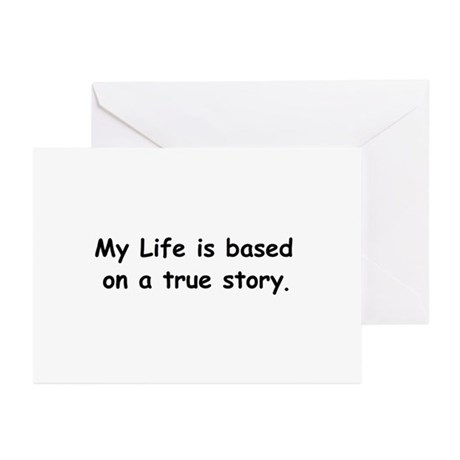 My Life Greeting Cards (Pk of 20)