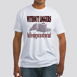 Without Loggers Fitted T-Shirt