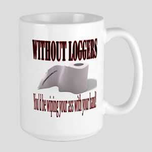 Log On Large Mug