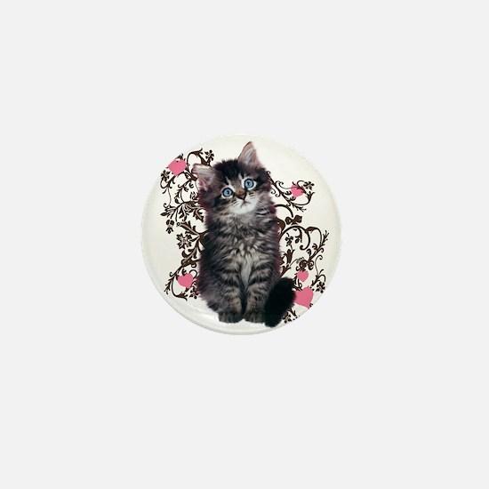 Cute Kitten Kitty Cat Lover Mini Button (10 pack)