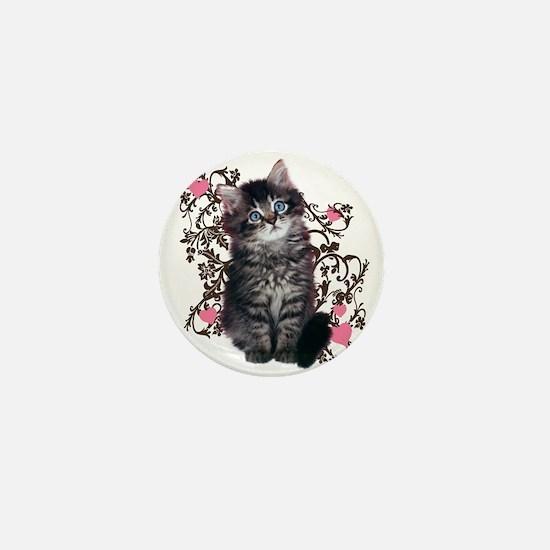 Cute Kitten Kitty Cat Lover Mini Button