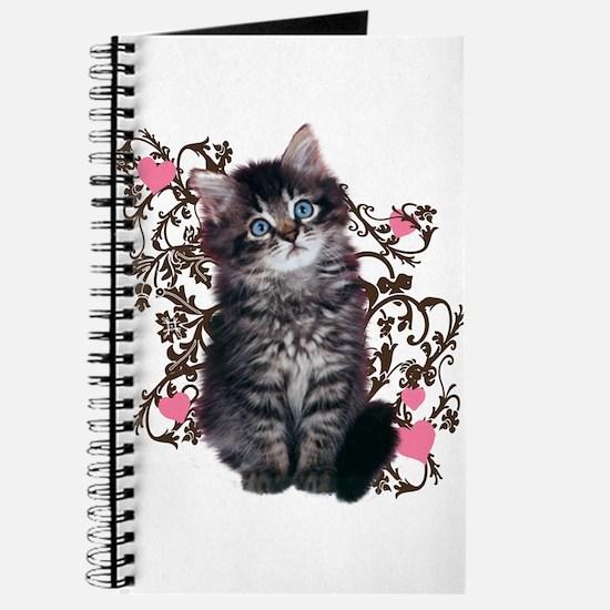 Cute Kitten Kitty Cat Lover Journal