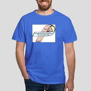 Christian Kime CDH Awareness Ribbon Dark T-Shirt