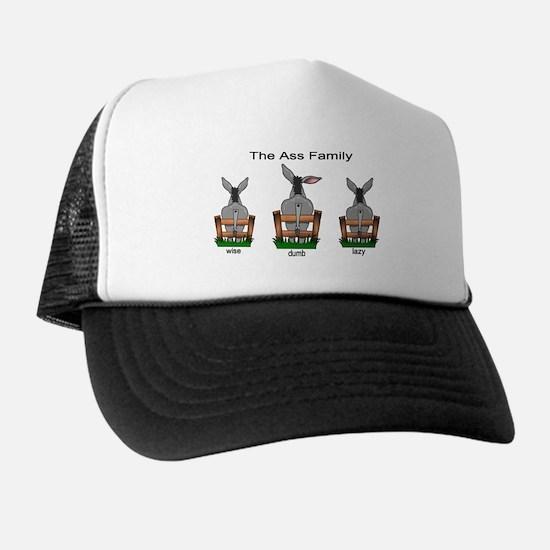 Cute Wise ass Trucker Hat