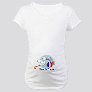 Stork Baby France Maternity T-Shirt