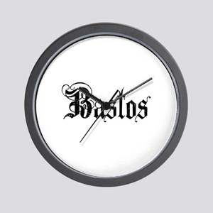 BASTOS-1 Wall Clock