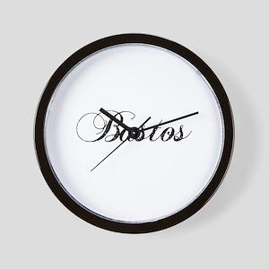 BASTOS-2 Wall Clock