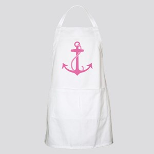 Pink Anchor Apron