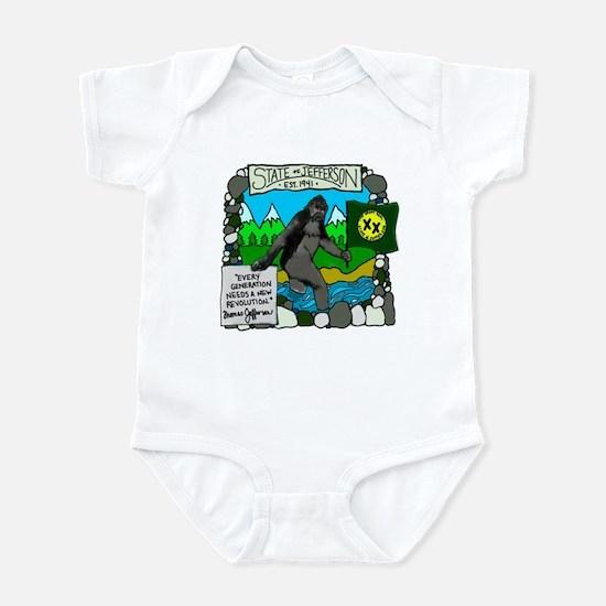 State of Jefferson Infant Bodysuit