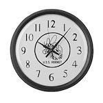USS Hornet (CV 8) Large Wall Clock