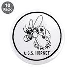 """USS Hornet (CV 8) 3.5"""" Button (10 pack)"""