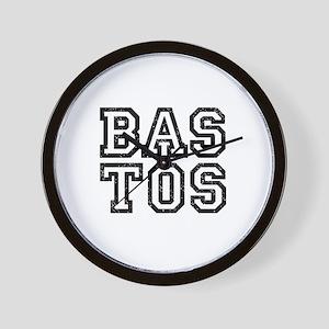 BASTOS-3 Wall Clock