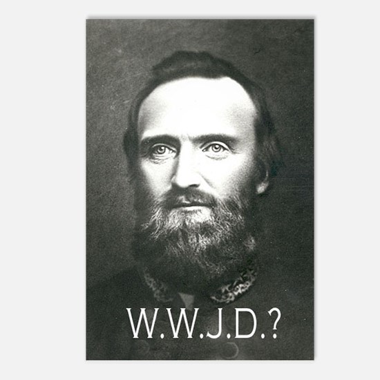 What Would Jackson Do? Postcards (Package of 8)