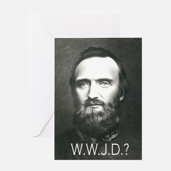 What Would Jackson Do? Greeting Card