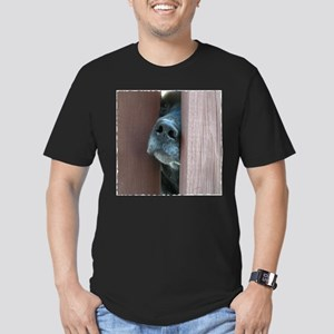 The Nose Knows Men's Fitted T-Shirt (dark)