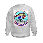 USS Hornet (CVA 12) Kids Sweatshirt