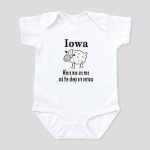Iowa Sheep Infant Bodysuit