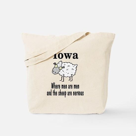 Iowa Sheep Tote Bag