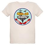 USS Coral Sea (CVA 43) Organic Kids T-Shirt