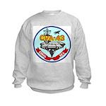 USS Coral Sea (CVA 43) Kids Sweatshirt