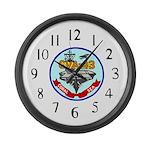 USS Coral Sea (CVA 43) Large Wall Clock