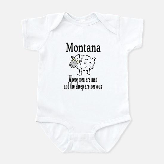 Montana Sheep Infant Bodysuit