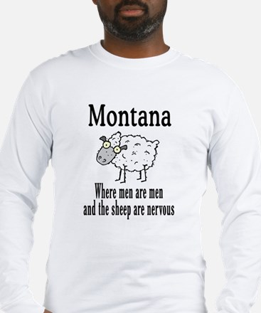 Montana Sheep Long Sleeve T-Shirt