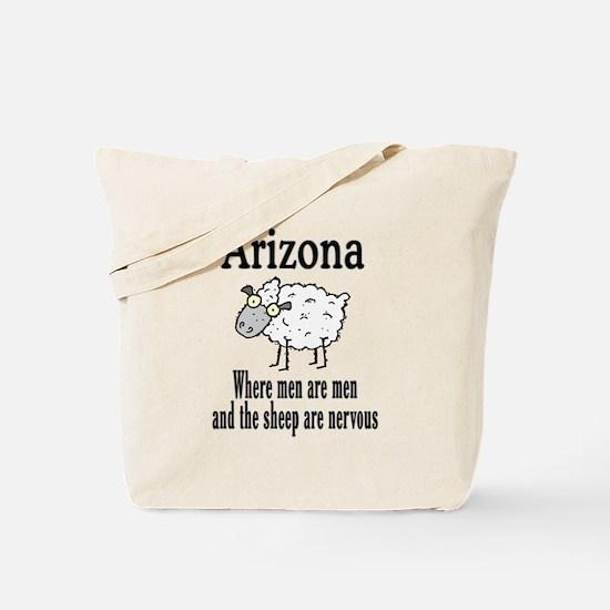 Arizona Sheep Tote Bag