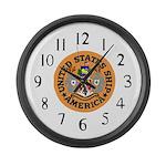 USS America (CVA 66) Large Wall Clock