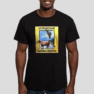 Assateague island national Se Men's Fitted T-Shirt