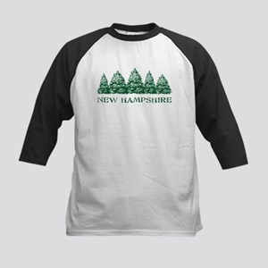 NH Winter Evergreens Kids Baseball Jersey
