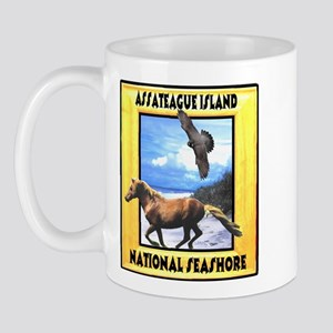Assateague island national Se Mug