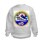 USS Bairoko (CVE 115) Kids Sweatshirt