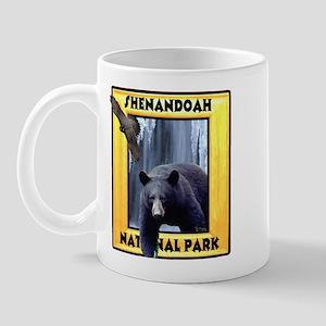Shenandoah Nationl Park Bear Mug