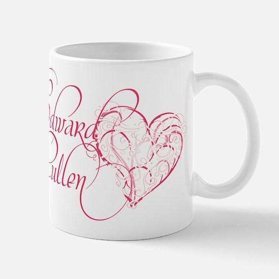 Edward Cullen Heart Mug