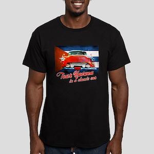 Havana Car Men's Fitted T-Shirt (dark)
