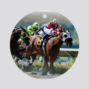 Racing Ornament (Round)