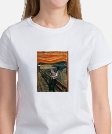 The Scream with Cats Women's T-Shirt