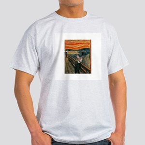 The Scream with Cats Light T-Shirt