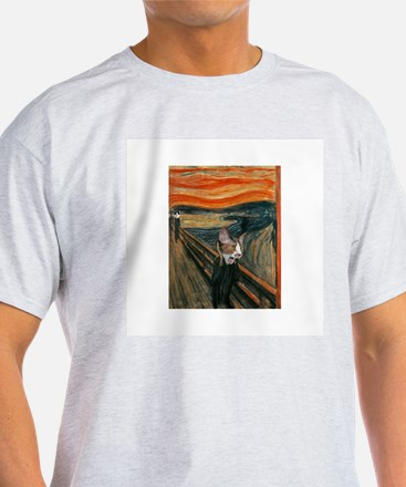 The Scream with Cats T-Shirt