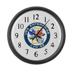 USS Enterprise (CVN 65) Large Wall Clock