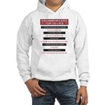 Snowmobilers Top Ten Lies Hooded Sweatshirt